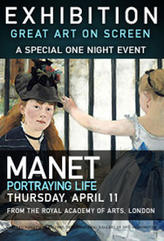 EXHIBITION: Manet: Portraying Life showtimes and tickets
