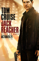 Jack Reacher: Never Go Back showtimes and tickets