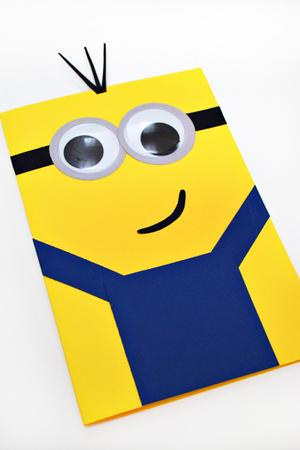 DIY: Make This Super-Cute Minions Mother's Day Card