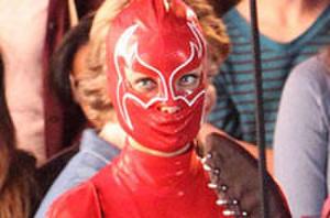 First Look: Olivia Wilde's Weird Superhero Costume, James Franco as Hugh Hefner