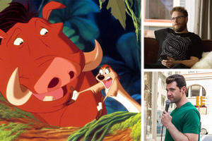 Seth Rogen and Billy Eichner Wanted for Timon and Pumbaa in 'The Lion King'
