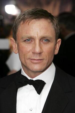 """Casino Royale"" British star Daniel Craig at the London premiere."
