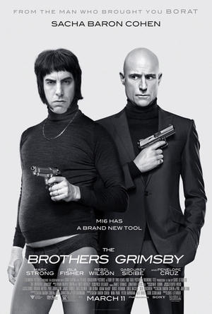 """Poster art for """"The Brothers Grimsby."""""""
