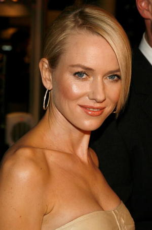 """""""The Painted Veil"""" star Naomi Watts at the Hollywood premiere."""