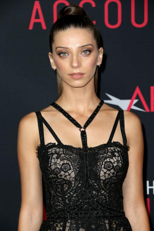 "Angela Sarafyan at the California premiere of ""The Accountant."""