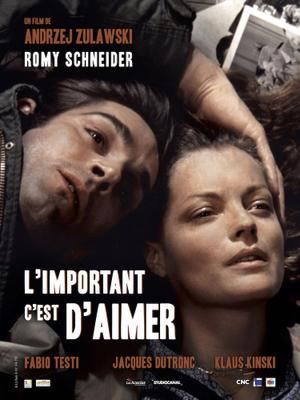 """Poster art for """"L'Important C'est d'Aimer."""""""