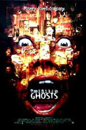 "Poster art for ""13 Ghosts."""