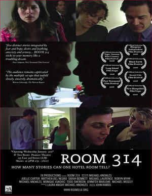 "Poster art for ""Room 314."""