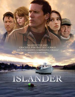 """Poster art for """"Islander."""""""