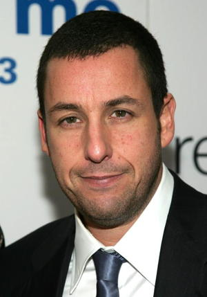 """Adam Sandler at the New York premiere of """"Reign Over Me"""""""