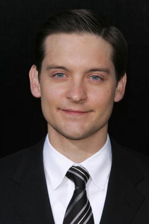 """""""Spider-Man 3"""" star Tobey Maguire at the premiere during the 2007 Tribeca Film Festival in N.Y."""