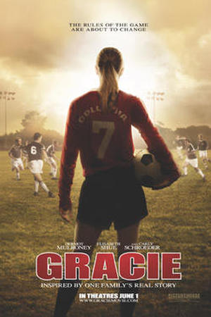 """Poster art for """"Gracie."""""""