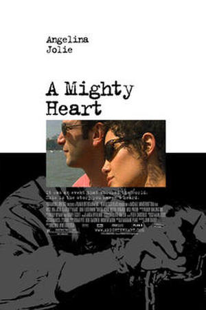 "Poster art for ""A Mighty Heart."""