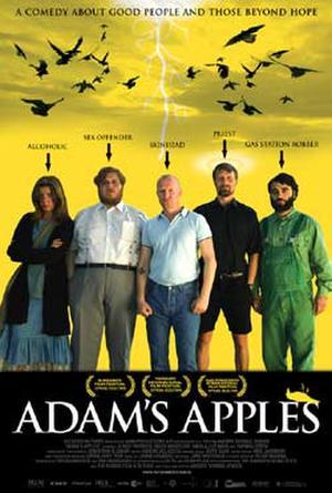 "Poster art for ""Adam's Apples."""