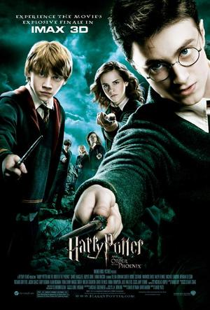 "Poster art for ""Harry Potter and the Order of the Phoenix: The IMAX Experience."""