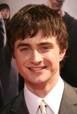 "Daniel Radcliffe at the ""Harry Potter And The Order Of The Phoenix"" U.S. premiere."