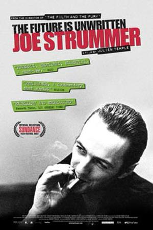 """Poster art for """"Joe Strummer: The Future Is Unwritten."""""""