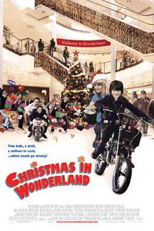 """Poster art for """"Christmas in Wonderland."""""""