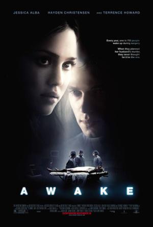 """Poster art for """"Awake."""""""