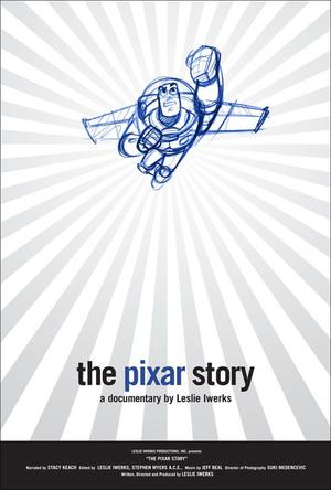 "Poster art for ""The Pixar Story."""