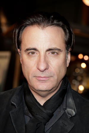 """Andy Garcia at """"The Air I Breathe"""" premiere."""