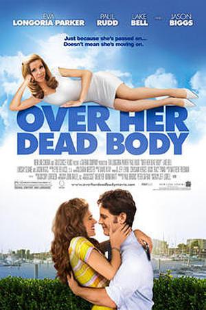 """Poster art for """"Over Her Dead Body."""""""