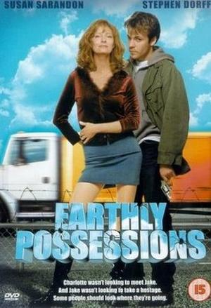 """Poster art for """"Earthly Possessions."""""""