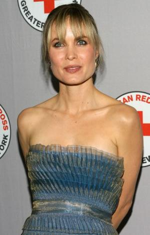 """Radha Mitchell at the New York premiere of """"The Children of Huang Shi."""""""