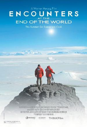 """Poster art for """"Encounters at the End of the World."""""""