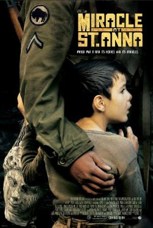 """Poster art for """"Miracle at St. Anna."""""""