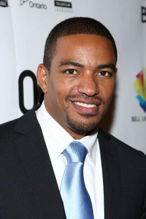 """Laz Alonso at the Canada premiere of """"Miracle At St. Anna"""" during the 2008 Toronto International Film Festival."""