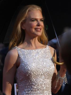"Nicole Kidman at the Australia premiere of ""Australia."""