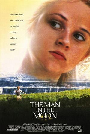 """Poster art for """"The Man in the Moon."""""""