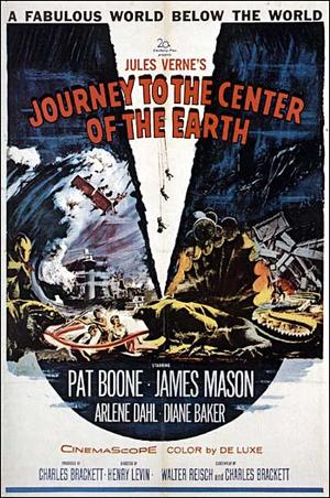 "Poster art for ""Journey to the Center of the Earth."""