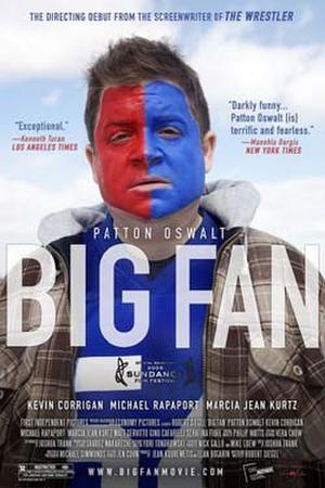 "Poster art for ""Big Fan."""