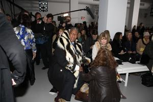 """Andre Leon Talley and Anna Wintour in """"The September Issue."""""""
