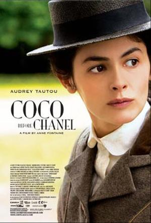 "Poster art for ""Coco Before Chanel."""