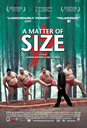 """Poster art for """"A Matter of Size."""""""
