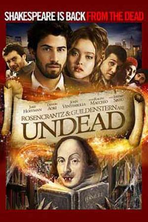 "Poster art for ""Rosencrantz and Guildenstern Are Undead."""