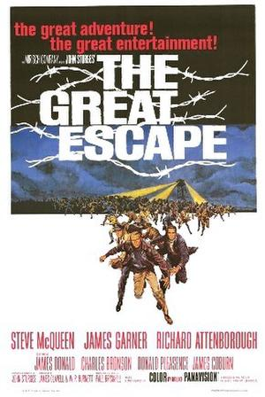 "Poster art for ""The Great Escape."""