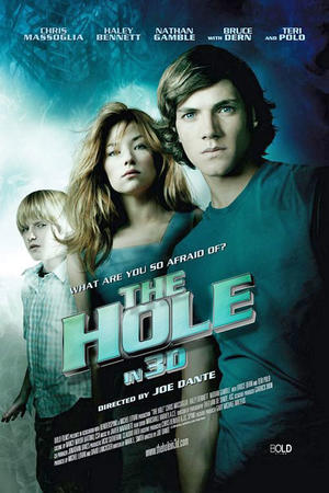 """Poster art for """"The Hole in 3D"""""""