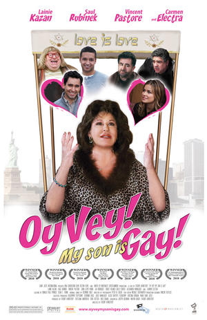 """Poster art for """"Oy Vey! My Son Is Gay!"""""""