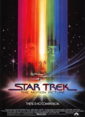 "Poster art for ""Star Trek: The Motion Picture."""