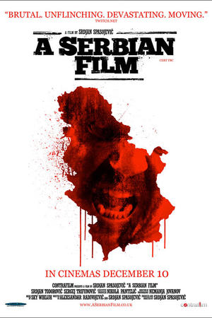 "Poster art for ""A Serbian Film."""