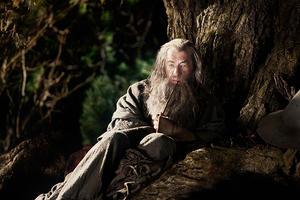 "Ian McKellen as Gandalf in ""The Hobbit: An Unexpected Journey."""