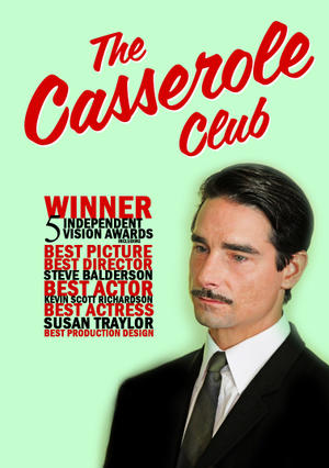 "Poster art for ""The Casserole Club."""