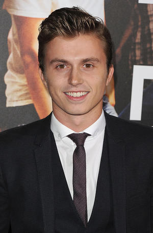 """Kenny Wormald at the California premiere of """"Footloose."""""""