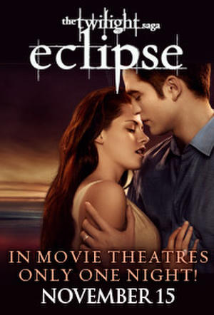 "Poster art for ""Twilight Saga Tuesdays: Eclipse."""