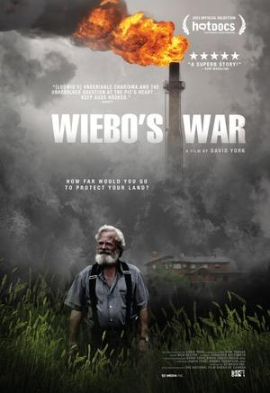 "Poster art for ""Wiebo's War."""