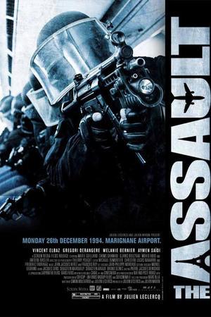 "Poster art for ""The Assault."""
